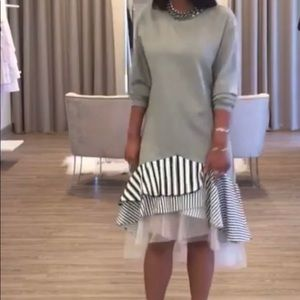 Kosmios gray sweatshirt dress. Size medium.